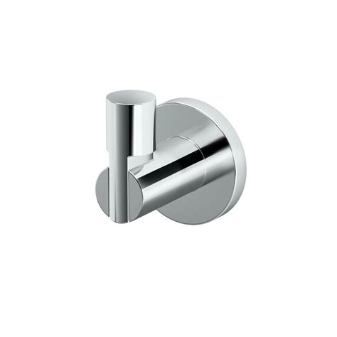 robe hook gatco channel single robe hook in chrome 4685 the home depot