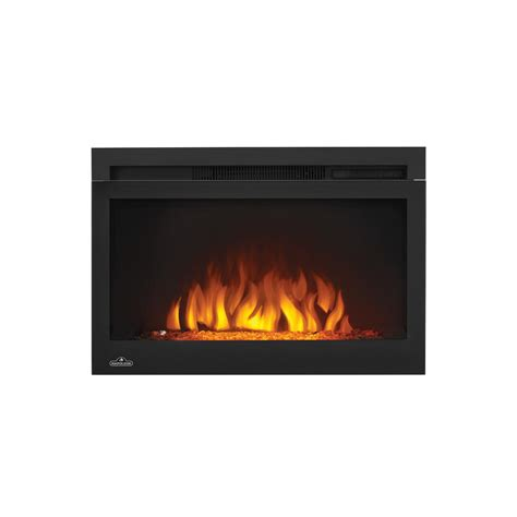 Home Depot Fireplace Logs by Napoleon Cinema Series 27 In Electric Fireplace Insert