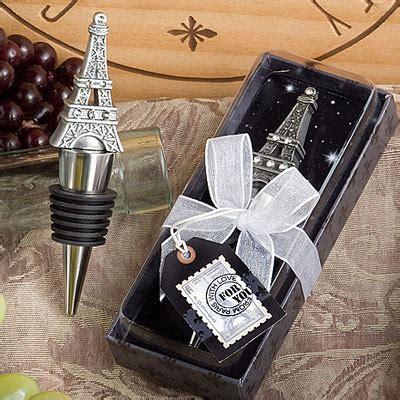 wine bottle stopper bridal shower favors eiffel tower wine bottle stopper favor wrapwithus