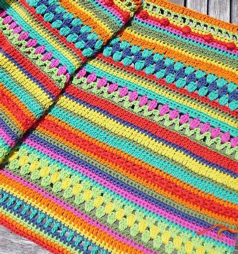 decke mit ärmel baumwolle crochet along babydecke gr 246 223 er h 228 keln schoenstricken de