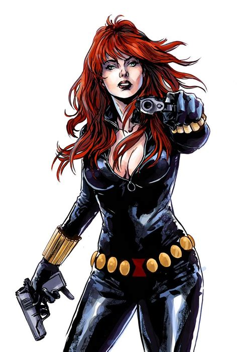 black widow black widow black widow marvel fan art and fictional
