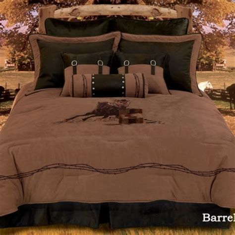 28 best barrel racing comforter set cowhide cross