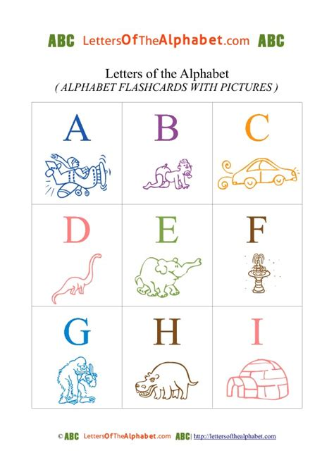 printable a4 alphabet flash cards alphabet letter phonic flash cards colored