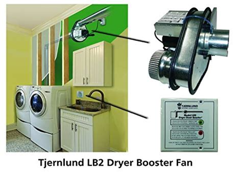 fantech dryer booster fan troubleshooting tjernlund lb2 dryer duct booster with status panel ul 705