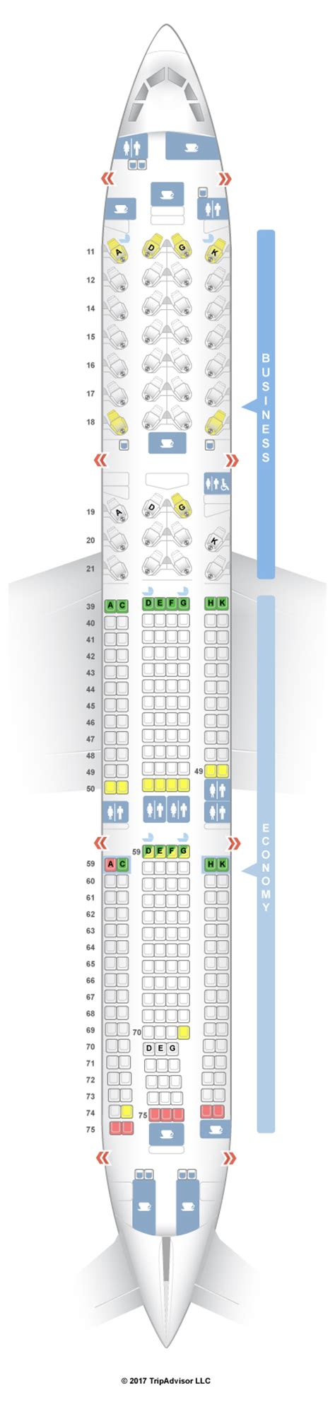 cathay pacific seat map seatguru seat map cathay pacific airbus a330 300 33e two