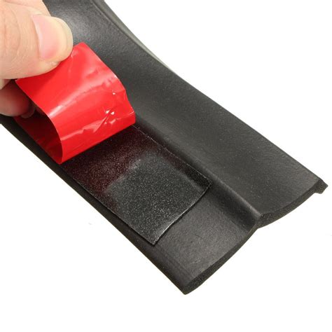 Pelindung Bemper Mobil Pelindung Karet Bemper Depan Mobil Black
