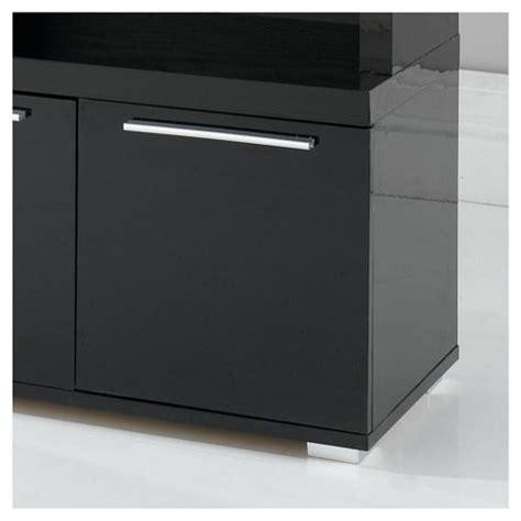 Buy Black Display Cabinet Buy Milan High Gloss Display Cabinet Black From Our