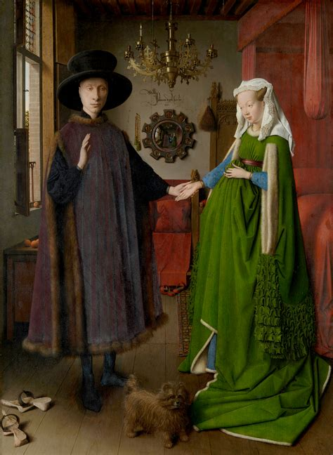 the arnolfini wedding portrait the visual experience reading 2014