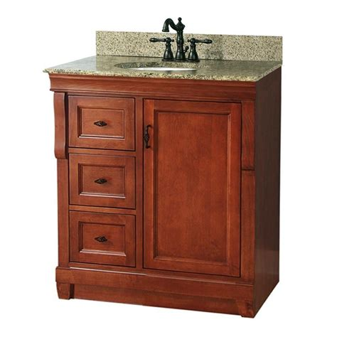 foremost nacaqu3122dl naples warm cinnamon single basin