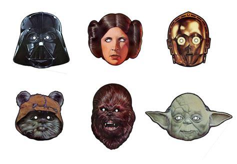 printable star wars masks celebrate star wars day with vintage star wars mask