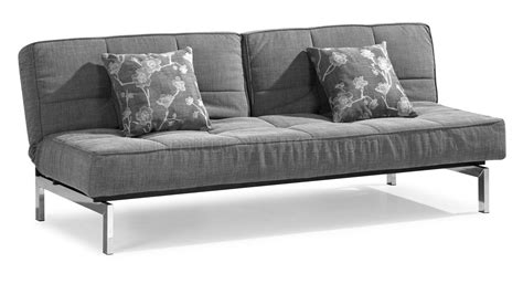 Microfiber Sleeper Sofa Gray Microfiber Convertible Sleeper Sofa With Split Back