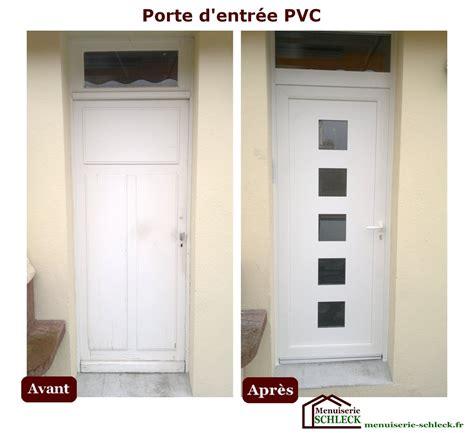 Remplacer Une Porte D Entrée 3068 by Comment Poser Une Porte D Entr 233 E Pvc La R 233 Ponse Est Sur