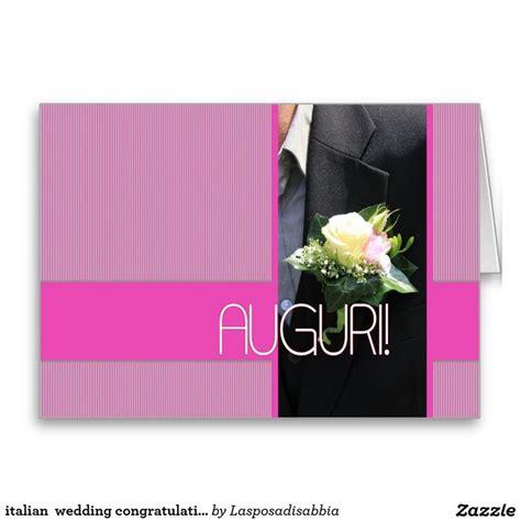 Wedding Congratulations In Italian by Italian Wedding Congratulations Card Wedding