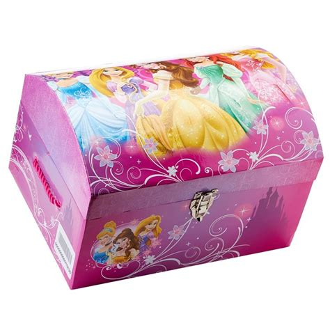 Disney PrinceSS Dress Up Storage Bin Trunk Chest Box [Toy