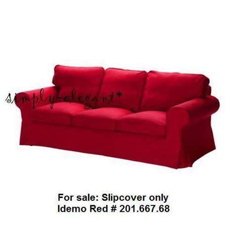 Ikea Ektorp 3 Seater Sofa Covers by Ikea Ektorp 3 Seat Sofa Slipcover Idemo Cotton Ebay