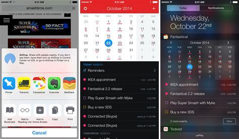Calendar Widget Iphone Fantastical 2 2 Interactive Notifications