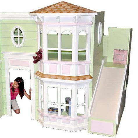 Abigail Victorian Bunk Bed Playhouse From Posh Tots Epic Posh Bunk Beds