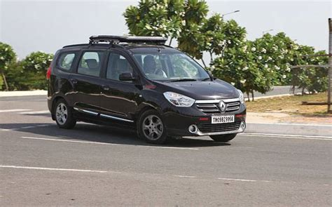 renault lodgy modified the renault lodgy is all about space long term review