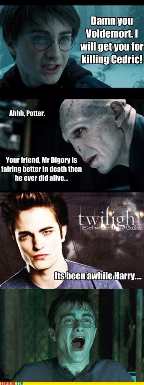 Twilight Memes Funny - funny harry potter pictures 42 pics