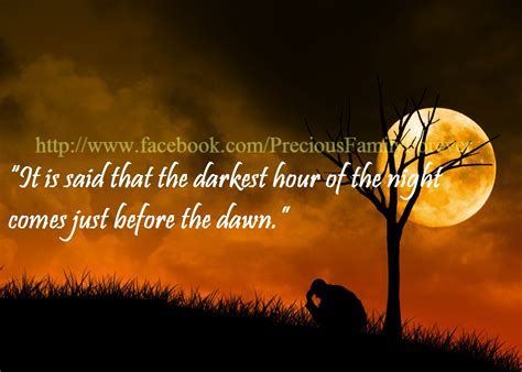 darkest hour of the night precious family darkest hour of the night