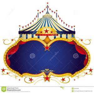 circus sign royalty free stock photos image 23552508