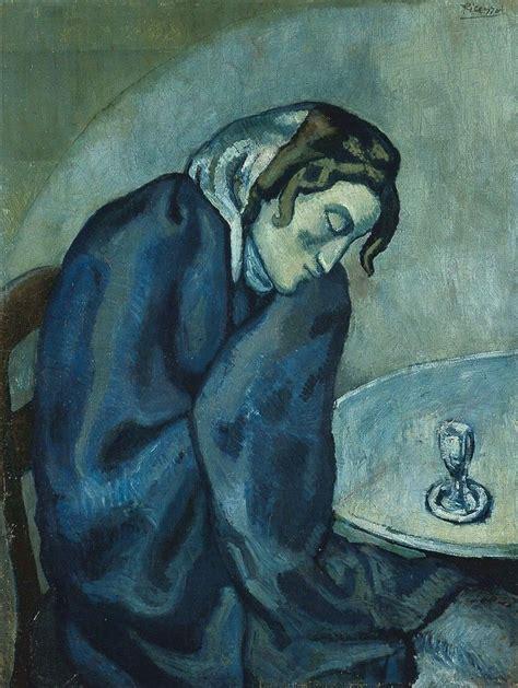 picasso emotion paintings vidinis nerimas slypintis po pablo picasso mėlynuoju periodu
