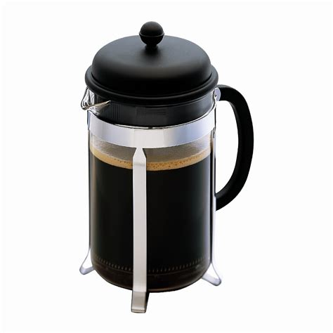 living giving bodum plunger caffettiera 3 cup