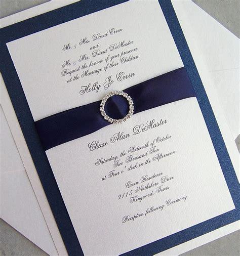 navy white and silver wedding invitations navy blue and silver wedding invitations