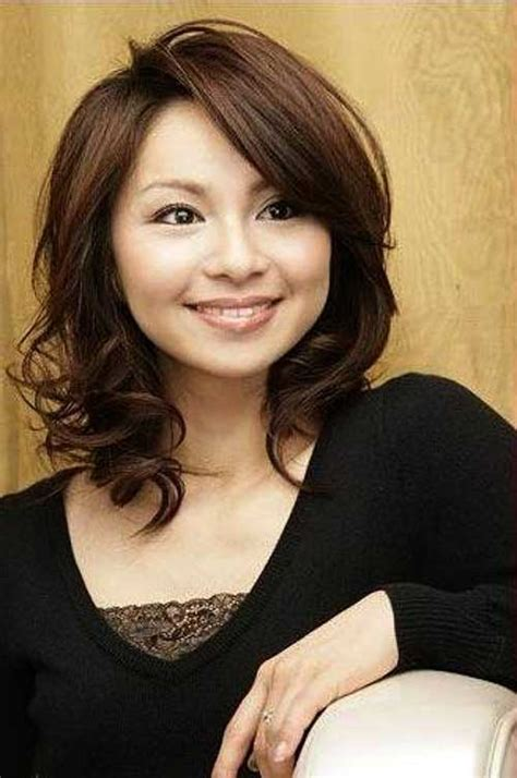round face japanese haircut 25 asian hairstyles for round faces hairstyles