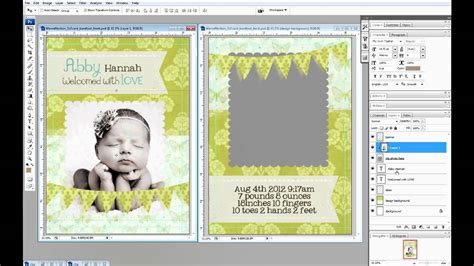 make a card in photoshop create 5x7 photo cards in photoshop