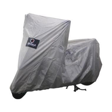 jual durable cover motor for kawasaki 250 abs grey harga kualitas