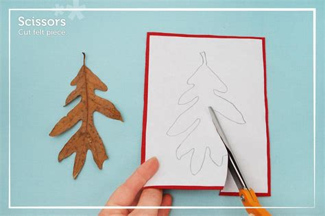 How To Make Paper Cut Outs - how to duplicate felt shapes for any craft project fix it