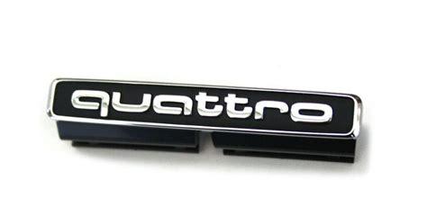 Autohaus K Hl Gifhorn Audi by Schriftzug Quattro Original Audi A3 S3 8v Emblem