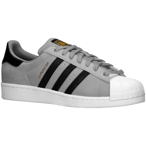 Free Ongkir Adidas Superstar 6 adidas superstar grey black mens trainers c77386 ebay