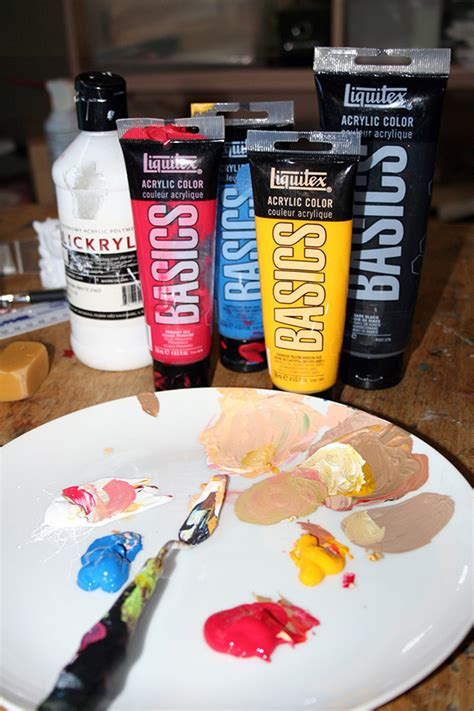 acrylic paint skin color an easy method for mixing paint for skin tones