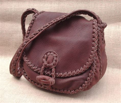 leather purses handmade with soft high quality