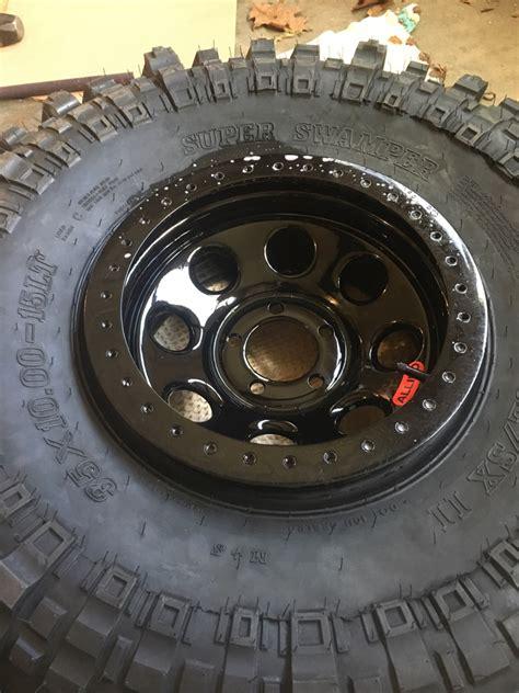 mounting a tire on a bead lock wheel help nc4x4