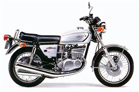 Suzuki 380 Gt Suzuki Gt380 Model History