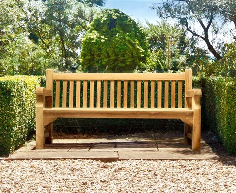 garden park bench balmoral park bench 6ft teak street bench 1 8m