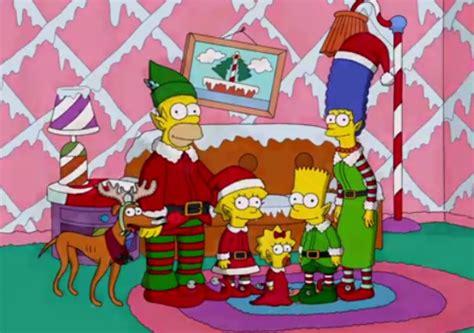 imagenes navidad de los simpson los simpson estrenan cabecera en su episodio especial de