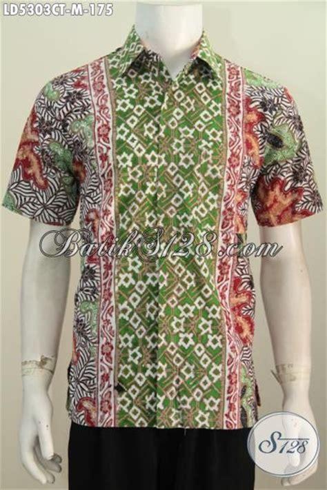Kemeja Cowok Lengan Pendek Motif baju kemeja batik motif kombinasi pakaian batik