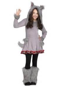 wolf halloween costume for girls s wolf cub costume
