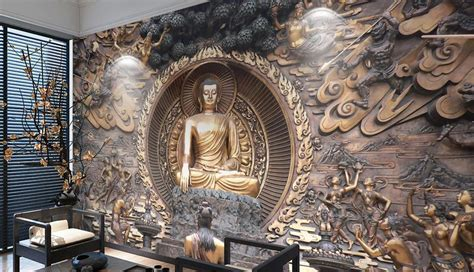 Buddha Wall Murals online get cheap buddha wall murals aliexpress com