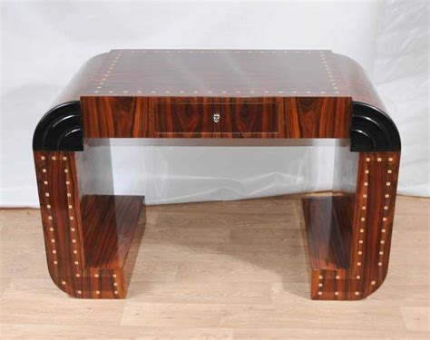 art deco style writing desk art deco desk writing console vintage 1920s furniture