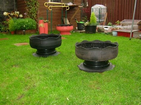 Tyre Planters : Grows on You
