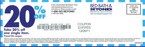 20 percent off bed bath beyond bed bath and beyond 20 percent off coupon 2012 2017