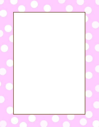 Pretty Baby Shower Borders Astounding Free Templates 64 In Cute Wedding Pretty Templates