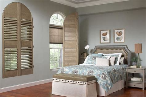 bedroom plantation shutters plantation shutters half moon window shutters