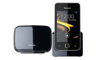 home phones for panasonic announces android ics powered kx prx120 cordless