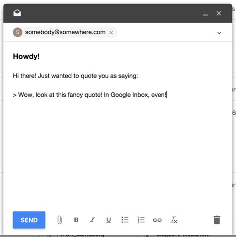 email quote format how to format as quote using inbox by gmail